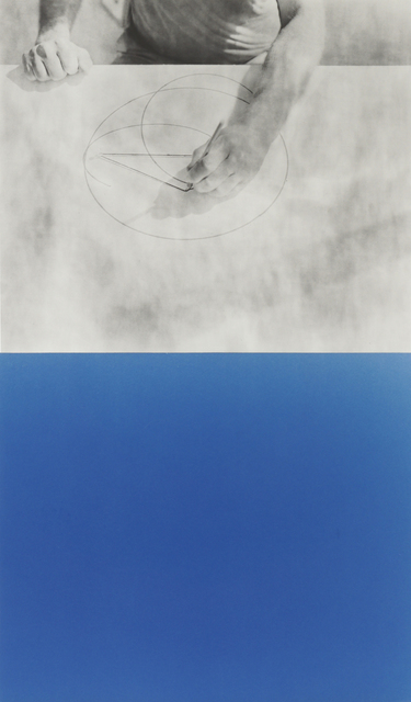, 'Cyanomètre 8,' 2017, Catherine Edelman Gallery