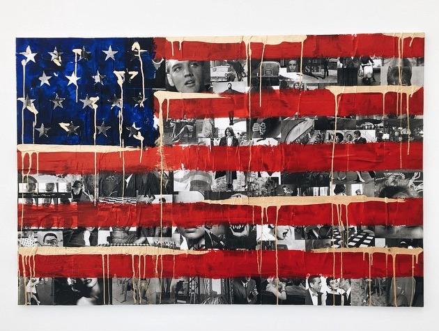 Lauren Benrimon, 'American Flag', 2015, David Benrimon Fine Art