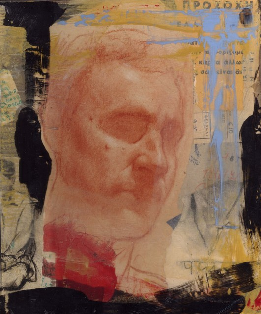 , 'Red Portrait with Resin,' 2011, Accesso Galleria