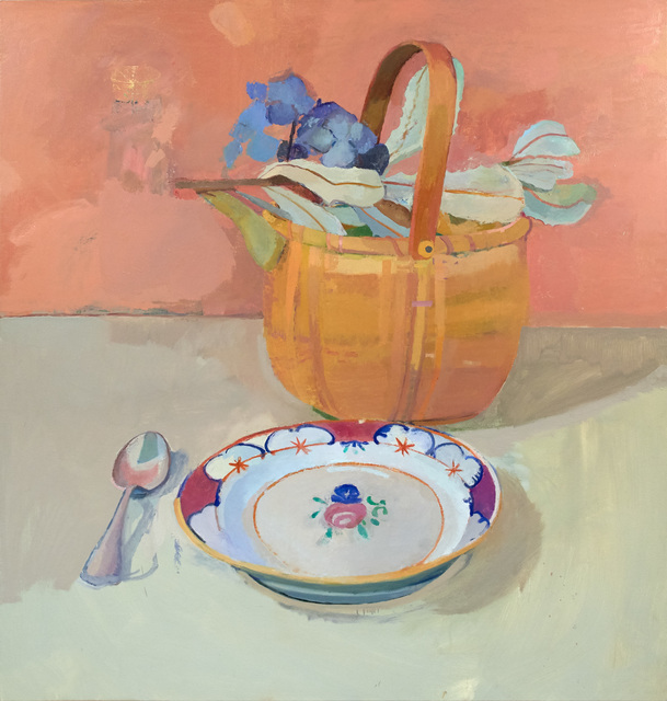 , 'Basket with Flowers,' , The Painting Center