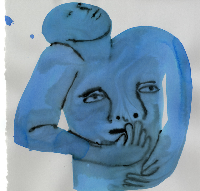 , 'Untitled (Interior Blue Series),' 2018, Jack Hanley Gallery