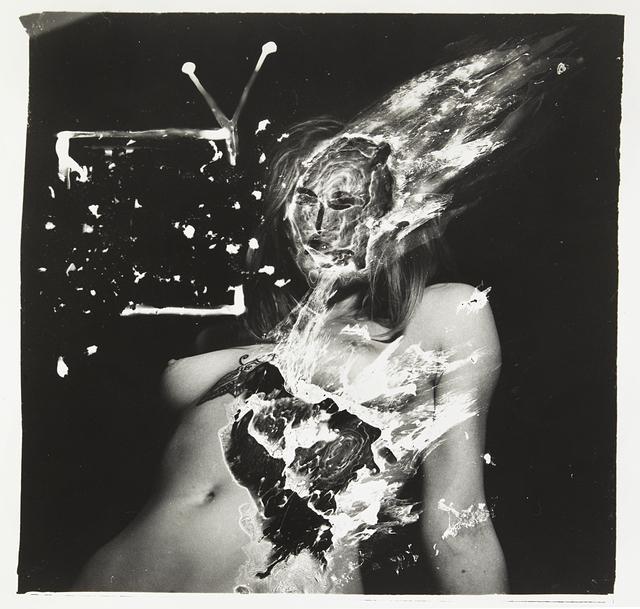 , 'La télévision et le corbeau,' 2015, Urban Spree Galerie