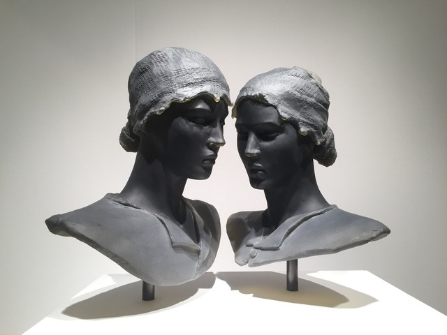 , 'Twins (2 busts),' 2017, Nancy Hoffman Gallery