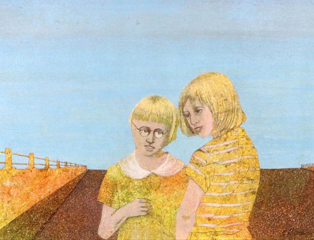 Carroll Cloar, 'Study for The Consultation', 1961, Greg Thompson Fine Art