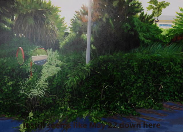 , 'It still seems like May 22 down here,' 2014, Lyla Gallery