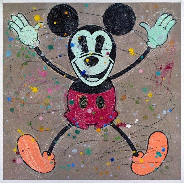 , 'Crazy Mickey,' 1994, Portland Gallery