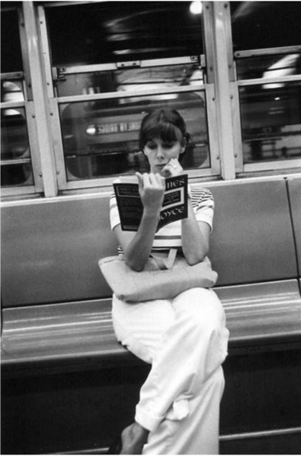 , 'New York City (woman & Joyce on subway),' 1973, Robert Mann Gallery