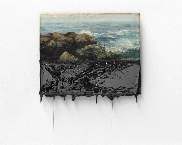 , 'Raue See,' 2015, kurimanzutto