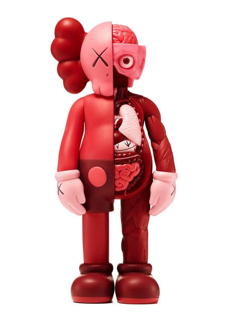 KAWS, 'KAWS Blush Companion (KAWS Red Blush Companion) ', 2016, Lot 180