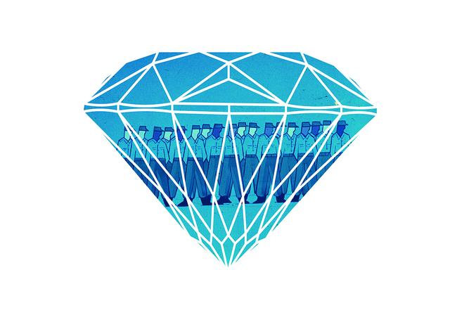 , 'Diamond,' 2008, Federico Luger (FL GALLERY)