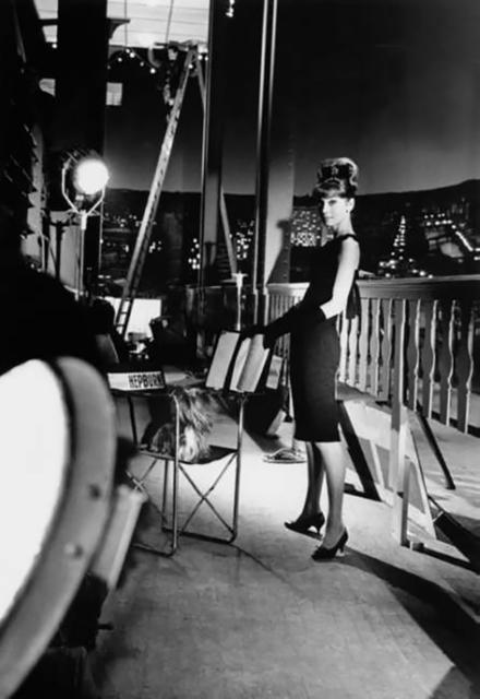 Bob Willoughby, 'Audrey Hepburn In her Sizzling Black Dress', White Cross