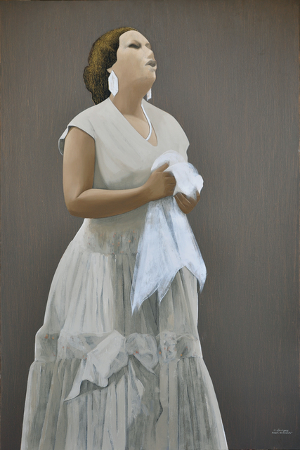 , 'Om Kalthoum 1,' 2017, Hafez Gallery