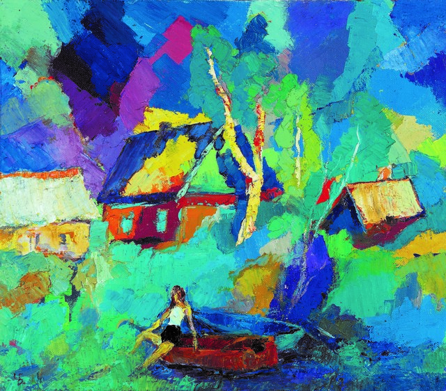 , 'On the Banks of the Volkov River,' 1995, Vail International Gallery
