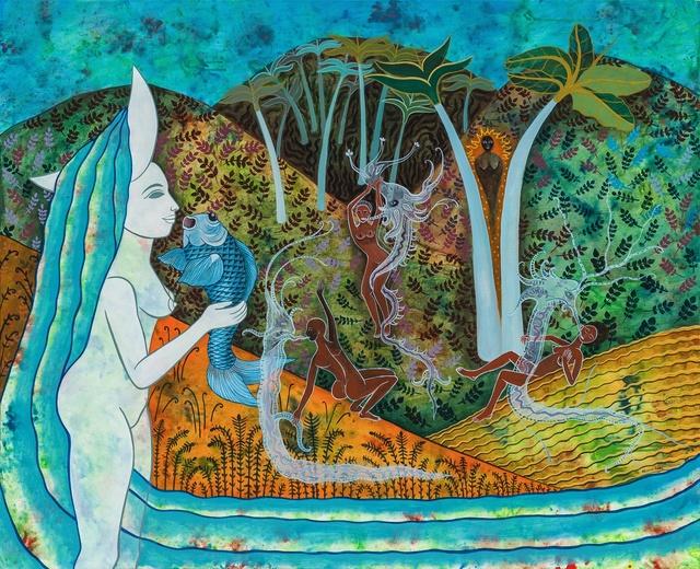 , 'Mujeres baillando con espiritus | Women Dancing With Spirits,' 2019, ArteMorfosis - Galería de Arte Cubano