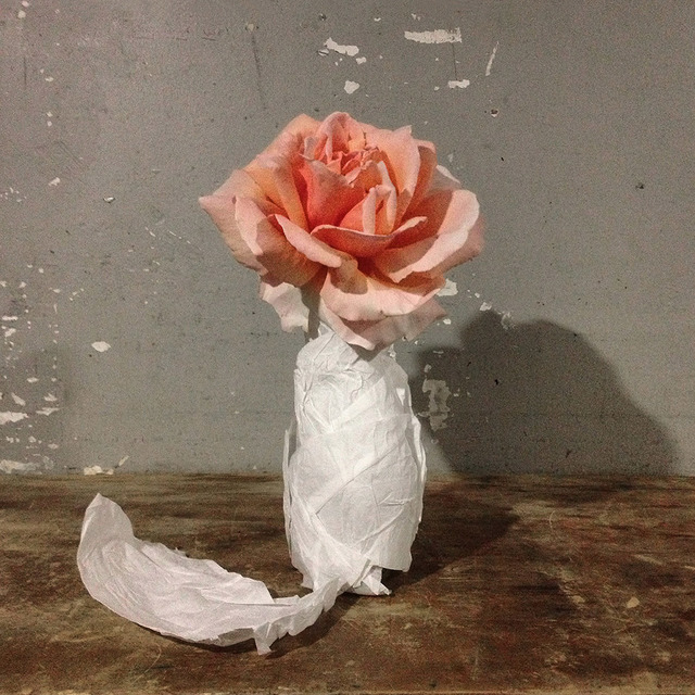 , 'Rose in a Bottle,' 2013, ClampArt