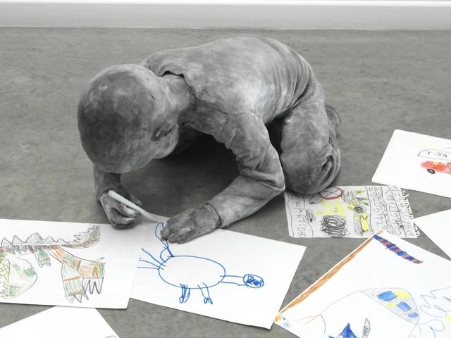 , 'Child Drawing,' 2018, Galerie von Braunbehrens