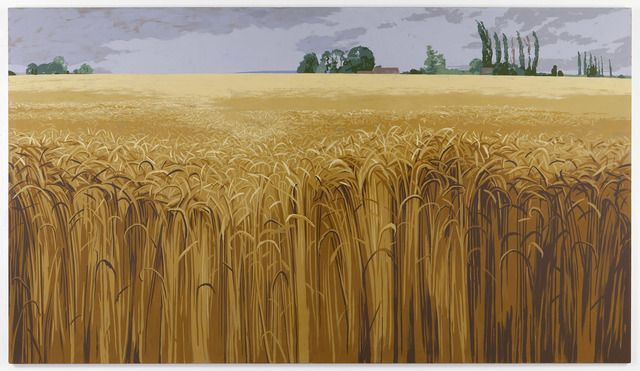 , 'Wheatfield Near Giverny,' 2011, Alexander and Bonin
