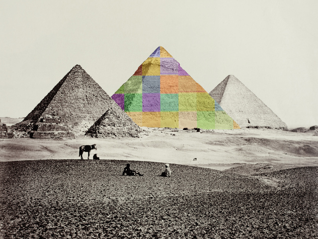 , 'After Francis Frith Pyramid,' , HackelBury Fine Art
