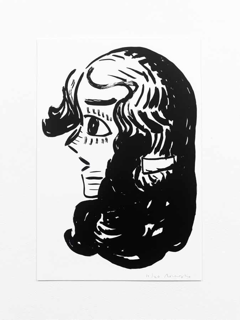 , 'Black Ink #6,' 2017, WILLAS Contemporary