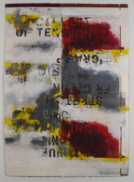 , 'Crossing Field (Joinery),' 2017, Adah Rose Gallery