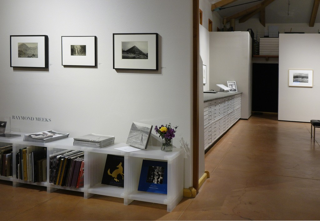 Raymond Meeks also on view at photo-eye gallery.