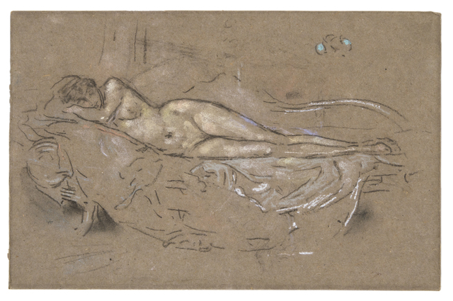 , 'Nude Reclining,' 1893-1900, David Tunick, Inc.