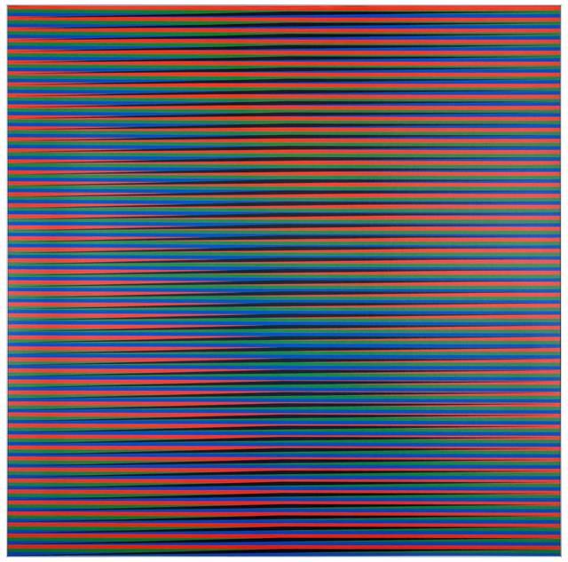 , 'Induction Chromqtique á Double Fréquence Adrianita B,' 2010, Puerta Roja