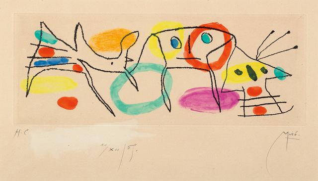 Joan Miró, 'La Magie quotidienne (Daily Magic)', 1968, Phillips