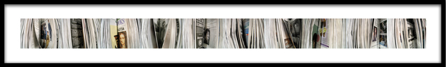 Barbara Astman, 'jackblack, Newspaper series', 2006, Corkin Gallery