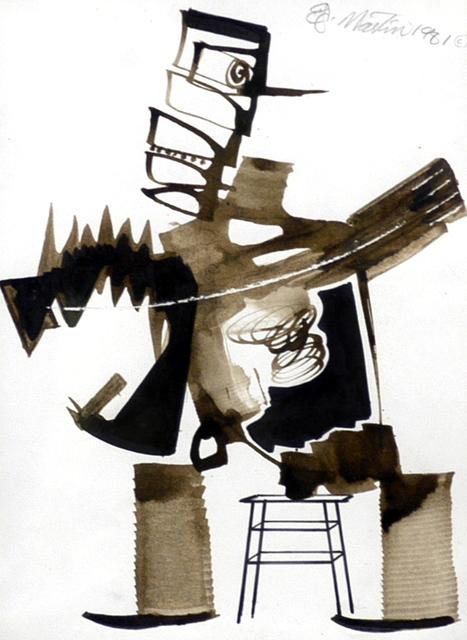 Eugene James Martin, 'Taxidermist', 1981, Eugene Martin Estate