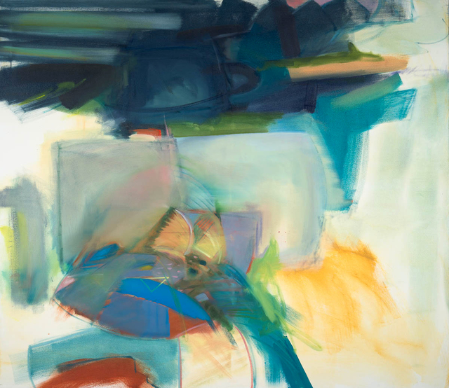 Charlotte Edsell, 'Parrot Steps', 2020, Painting, Oil on canvas, Candida Stevens Gallery