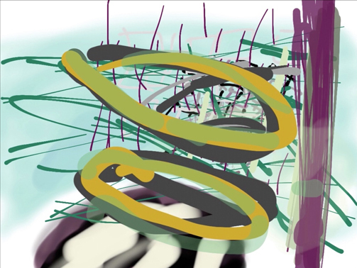 , 'file_brushes,' 2014, Charles Nodrum Gallery