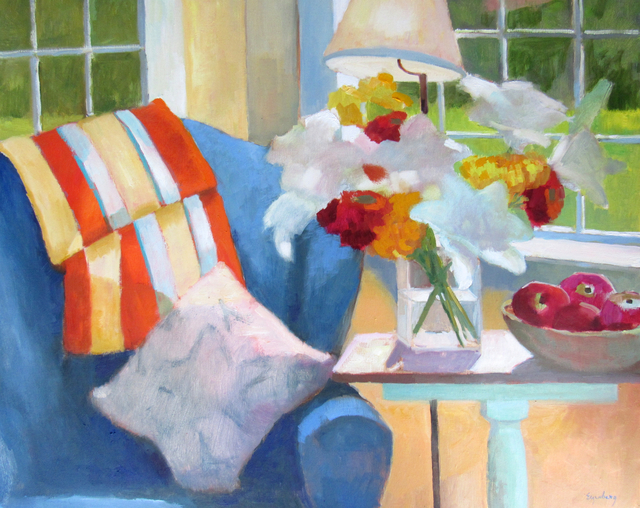 , 'Cottage Interior,' 2017, Addison Art Gallery