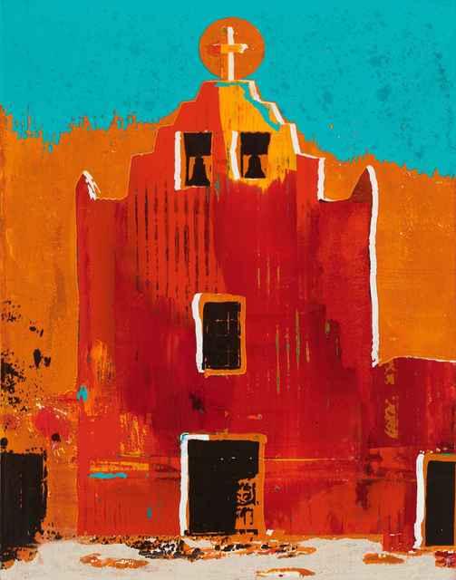 , 'San Jose Mission Laguna Pueblo,' , Sorrel Sky Gallery