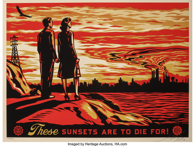 Shepard Fairey (OBEY), 'Sunset to Die For', 2007, Heritage Auctions