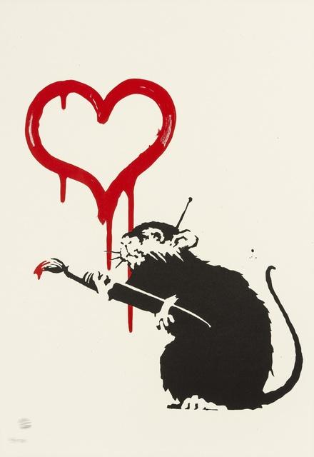 Banksy, 'Love Rat', 2004, Forum Auctions