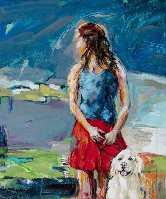, 'Storm Over Smathers Beach,' 2018, Gildea Gallery
