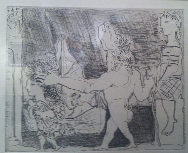 , 'Minotaur aveugle guide par une fillete,III,' 1934, Ruth Ziegler Fine Arts Ltd.