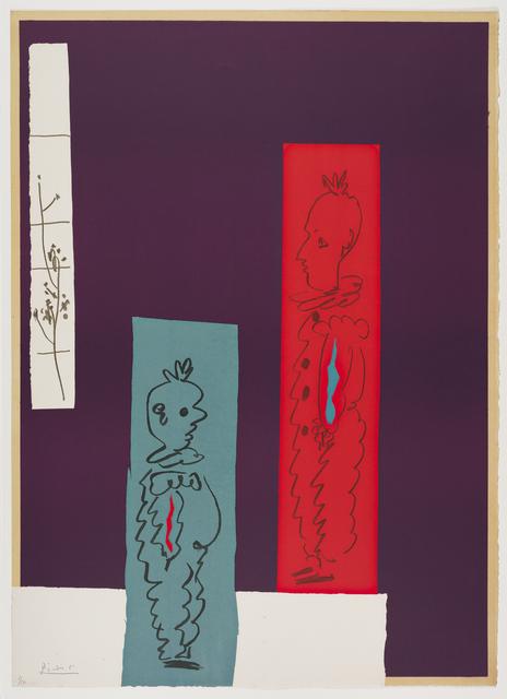 , 'Deux Clowns,' 1954, Frederick Mulder