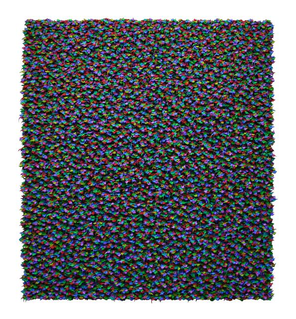 Robert Sagerman, '14,113', 2009, Brian Gross Fine Art