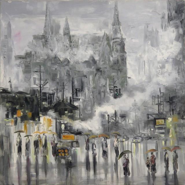 , 'In spring rain,' 2002, A-Art Shengzan Gallery