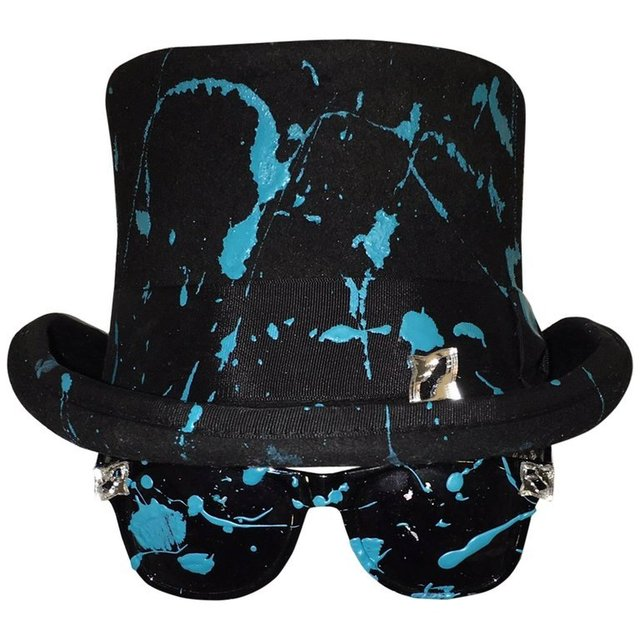 , 'Stacy Engman Art Royalty- Classic Signature Sunglasses-Tiara - w Splat Top Hat,' , ART CAPSUL