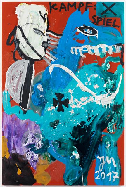 ", '""PFERD TRONJE"",' 2017, Galerie Krinzinger"