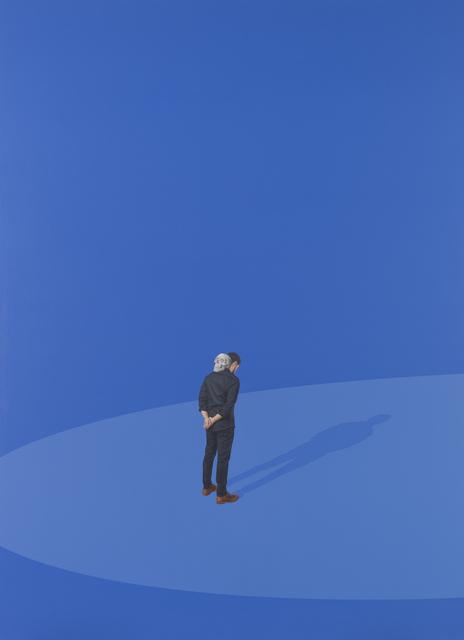 Hugo Lugo, 'Being and Nothingness in Indigo Blue', 2019, Cheryl Hazan Gallery