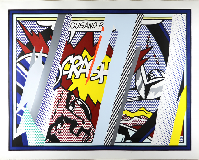 Roy Lichtenstein, 'Reflections on Crash', 1990, Heather James Fine Art
