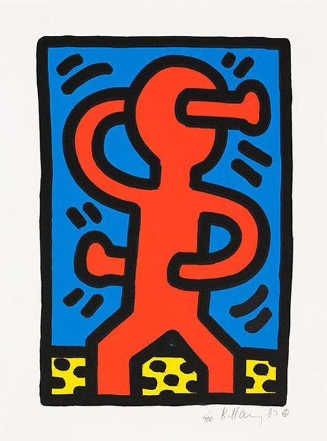 Keith Haring, 'Untitled, S Man', 1987, Oliver Clatworthy