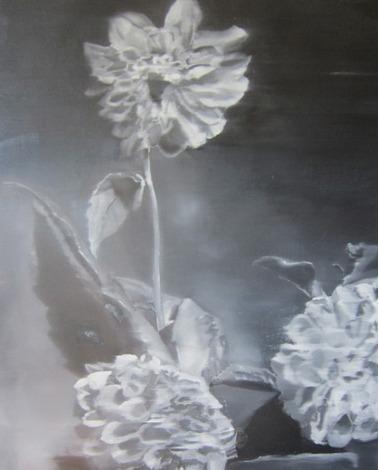 , 'Tall Dahlia,' 2012, Clark Gallery