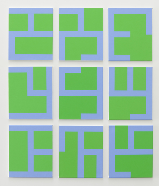 , 'Eviter le pire (green),' 2014, Tatjana Pieters