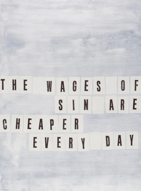 , 'The Wages of Sin,' 2016, Burnet Fine Art & Advisory