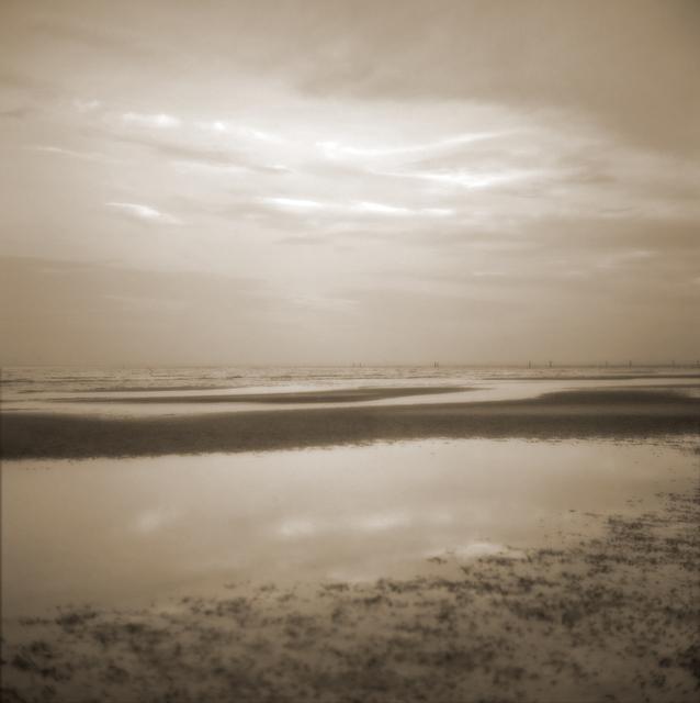 , 'Sky with Reflection ,' , Paraphé